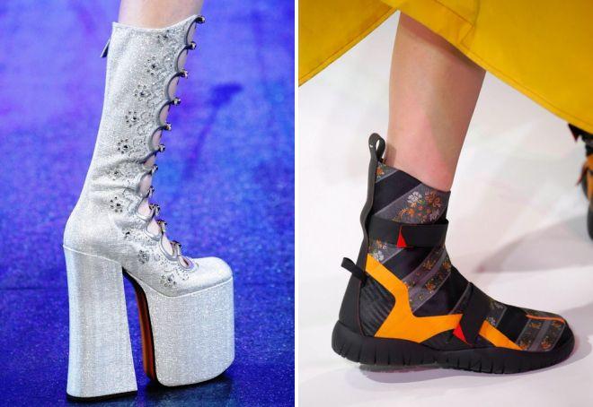 какая обувь будет в моде весной 2017
