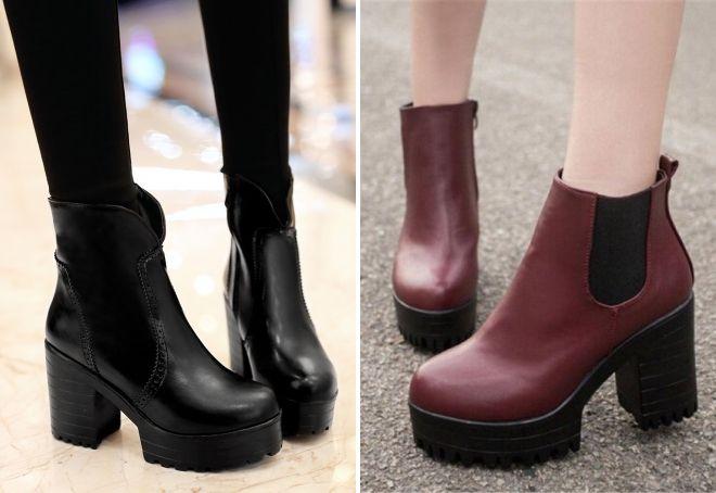 ботинки на весну 2017