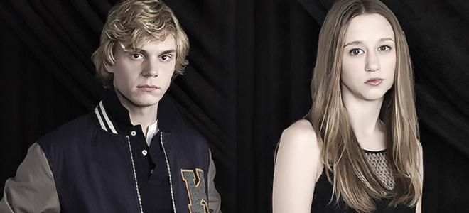 Taissa farmiga and evan peters golden globes