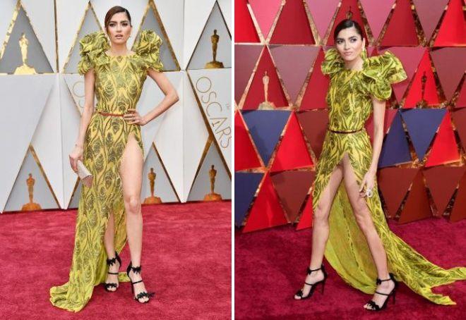 Скандальное платье Бланки Бланко на Оскаре 2017