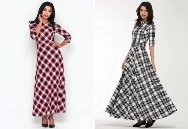 длинные платья 2017