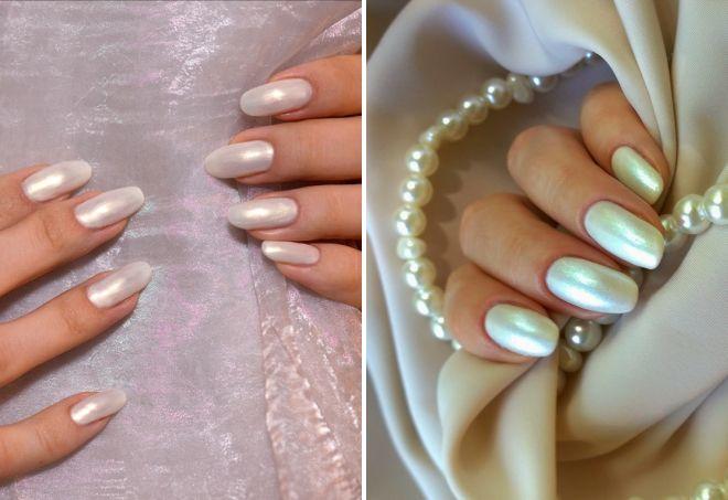 дизайн ногтей со втиркой