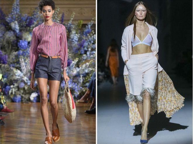 фото1 какие шорты в моде летом 2017