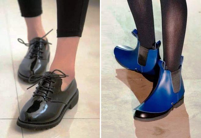 Модные ботинки 2017 женские весна