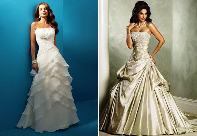 Красивый корсет свадебного платья 182