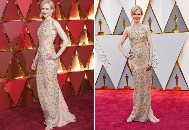 Платье Николь Кидман произвело фурор на Оскаре 2017