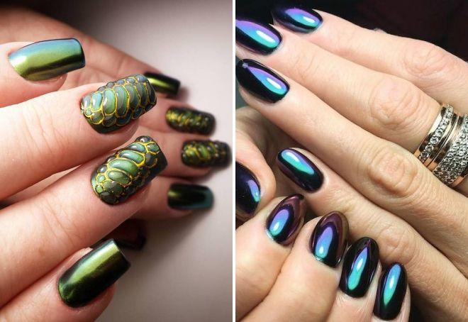 Втирка майский жук дизайн ногтей