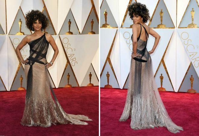 Неординарное платье Холли Берри на Оскаре 2017