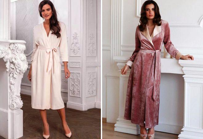 Повседневные платья халат