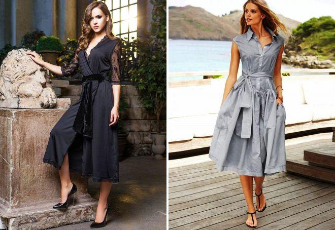 стильные платья 2017