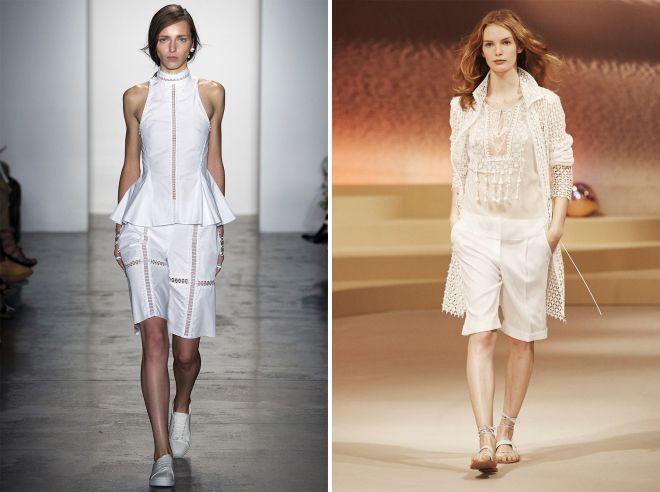 фото9 женские удлиненные летние шорты