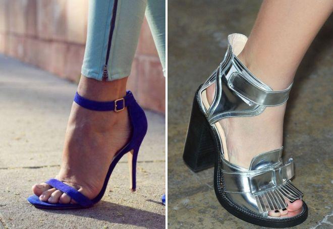 модная обувь лето 2017