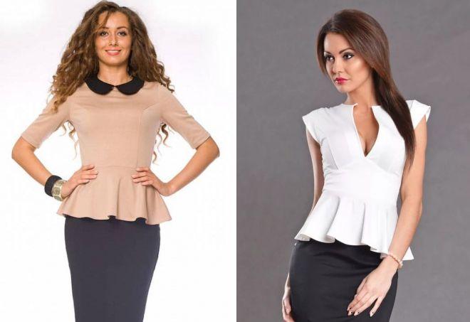 Женские блузки шелковые шифоновые