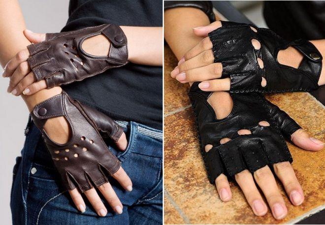 Как сделать перчатки без пальцев своими руками мужские 76