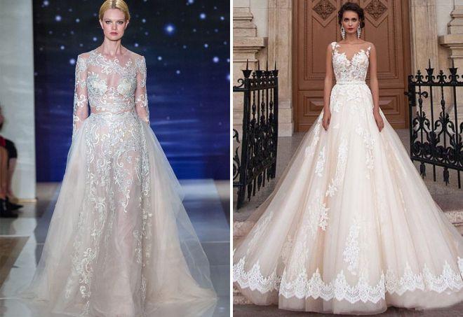 стильные свадебные платья 2017