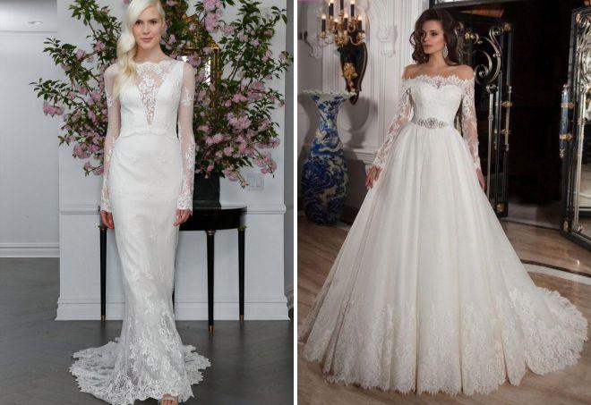 шикарные свадебные платья 2017