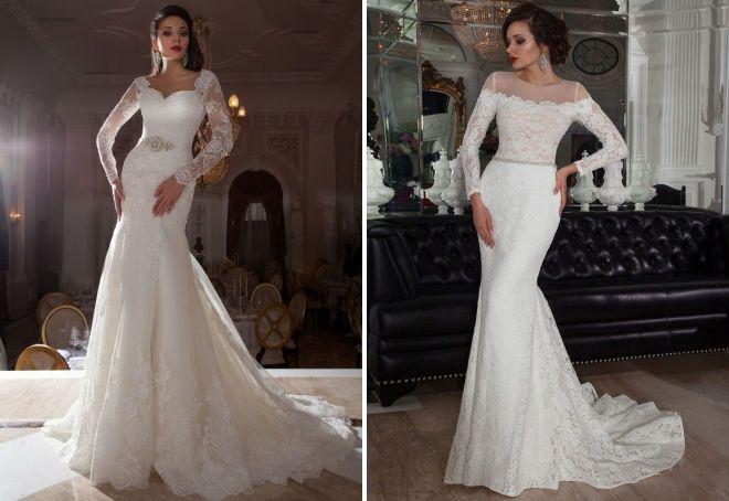 самые красивые свадебные платья 2017