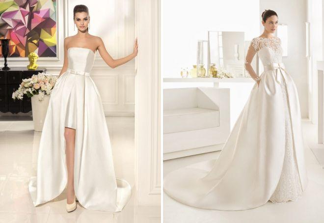 свадебное платье трансформер 2017