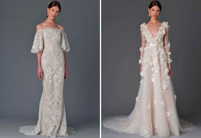 дизайнерские свадебные платья 2017