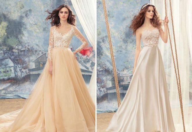 кружевные свадебные платья 2017 года