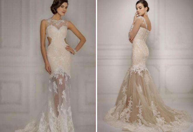 свадебные платья gabbiano 2017