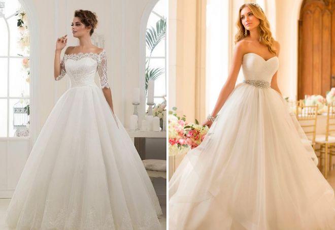 тренды свадебных платьев 2017