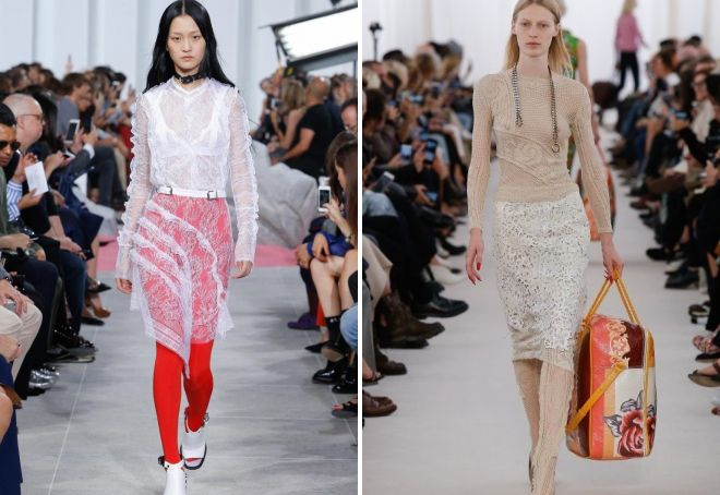 тренды весны 2017 одежда