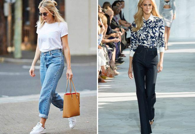 модные джинсы на весну 2017