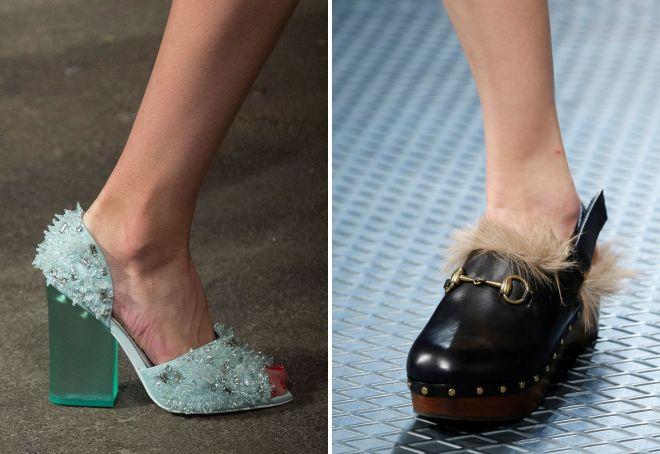 какая обувь модная весной 2017