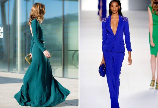 модные цвета в одежде на весну 2017