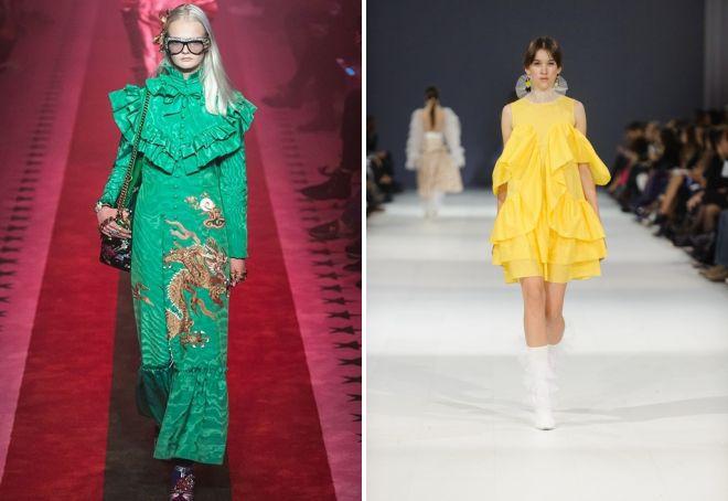 модные платья на весну 2017