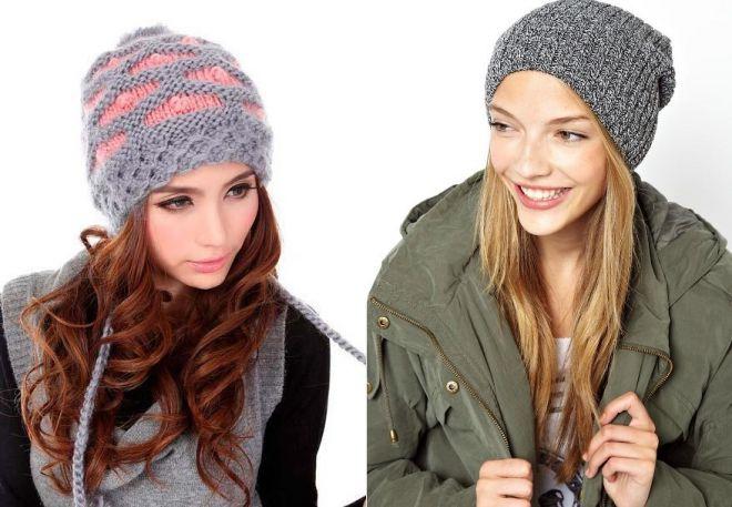Модели вязанных шапок 2016