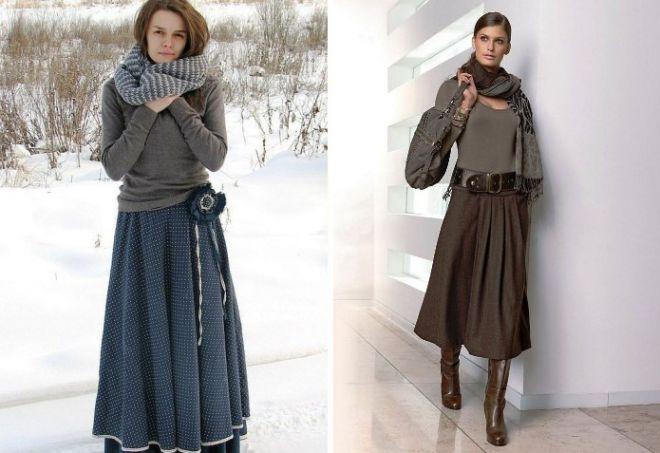 Зимние юбки3