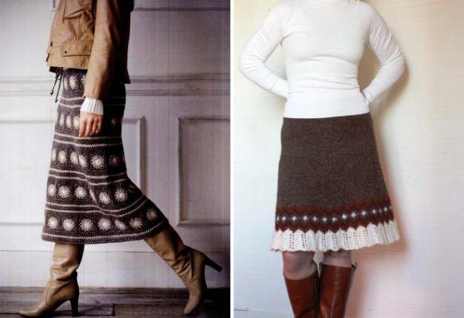 Зимние юбки7