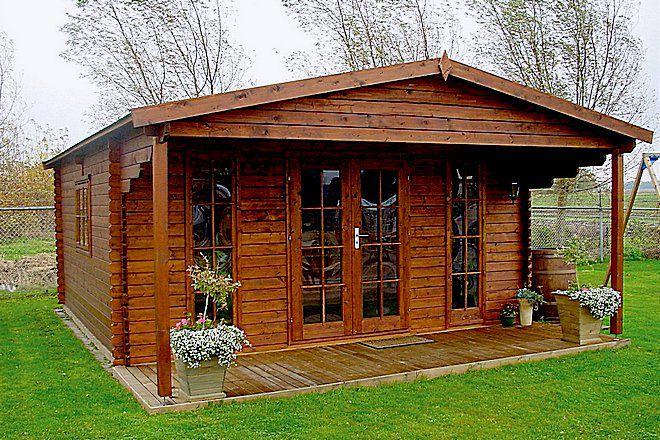 дома для проживания из бруса