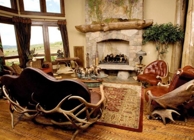 African living room