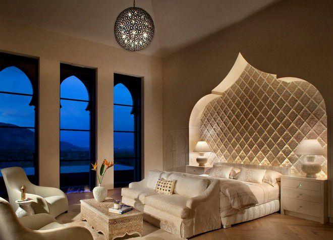 Arabische stijl in het interieur