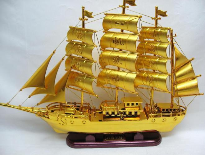 корабль символ богатства фен шуй