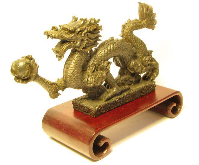 дракон символ мудрости фен шуй
