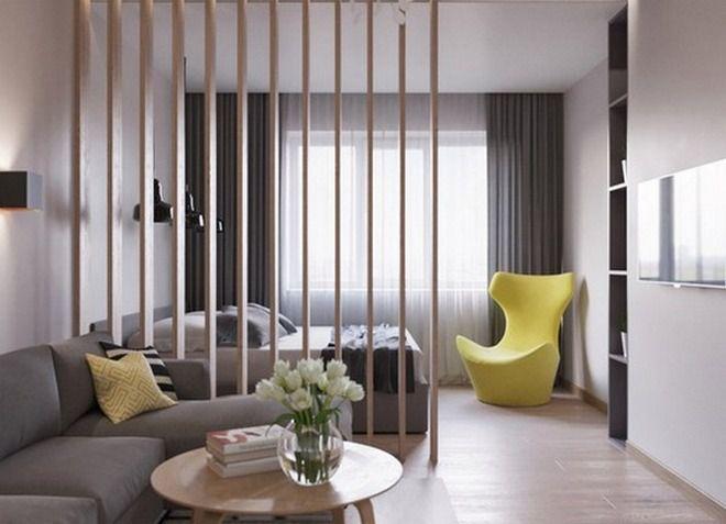 Интерьер однокомнатной малогабаритной квартиры
