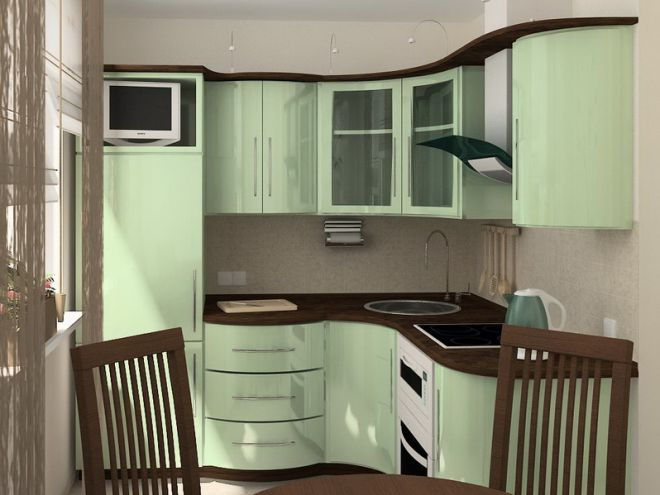 кухня в хрущевке 12