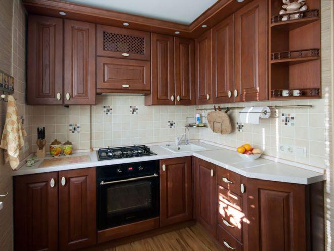 кухня в хрущевке 22