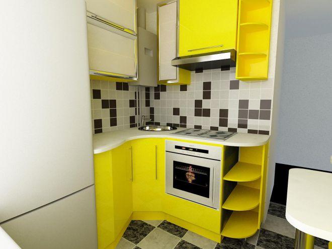 кухня в хрущевке 28