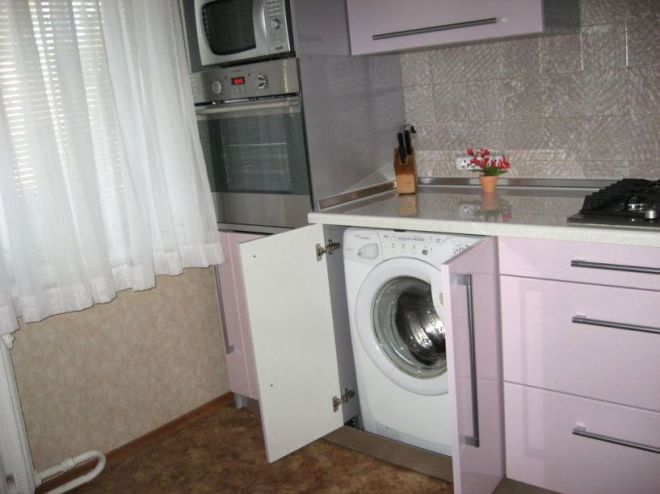 кухня в хрущевке 9