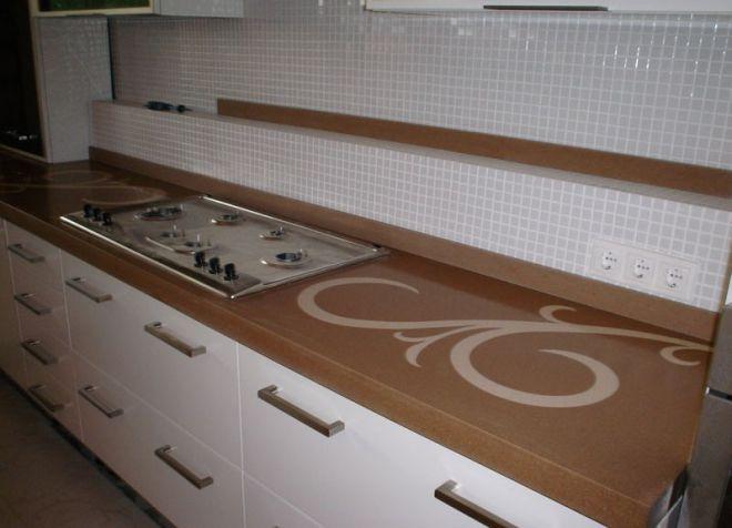 Küchenarbeitsplatte Kunststoff arbeitsplatte für den küchentisch