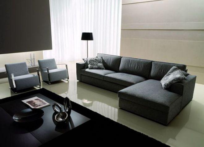 Muebles en el estilo del minimalismo
