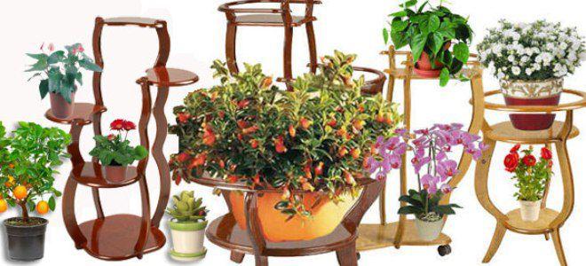 Деревянная подставка для цветов напольная своими руками