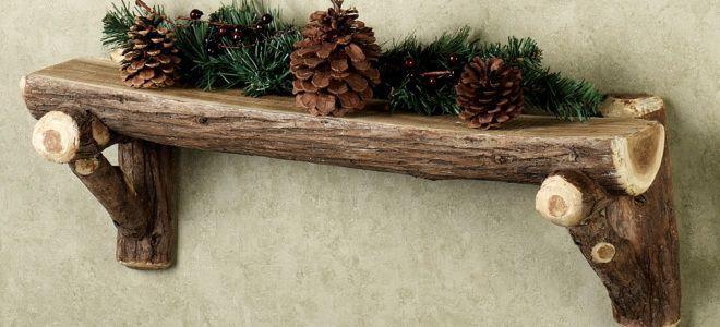 полочки резные из дерева фото
