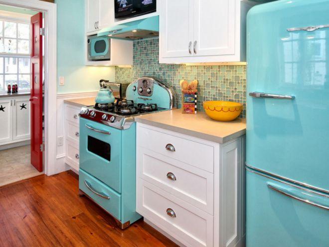 Цвет холодильника под цвет кухни