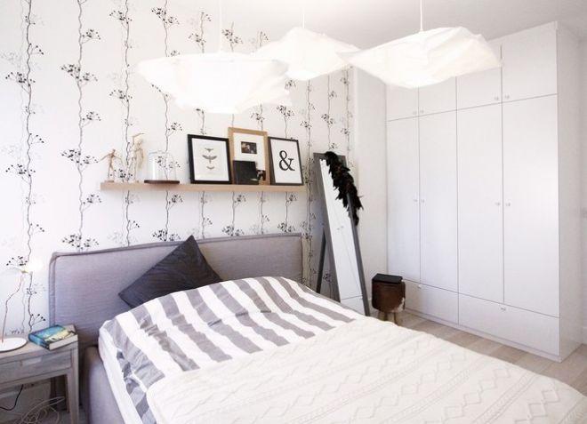 Slaapkamer Scandinavische Stijl : Slaapkamer in scandinavische stijl